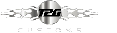 Logo, T2G Customs - Auto Paint